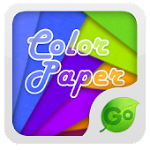 Color Paper GO Keyboard Theme