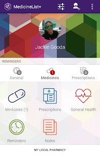 MedicineList+ screenshot for Android