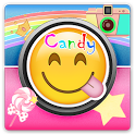 Candy Camera Photo Sticker icon