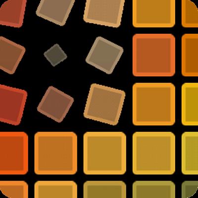 Активные квадраты Живые обои