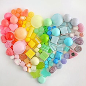 Hearts Candies Love wallpapers