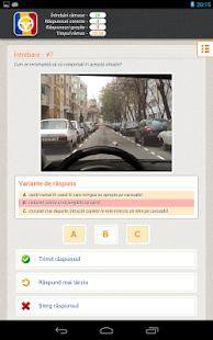 Scoala Auto - Chestionare Auto - screenshot thumbnail