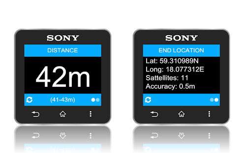 GPS Distance- screenshot thumbnail