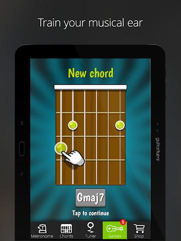 android Accordeur Guitares -GuitarTuna Screenshot 10