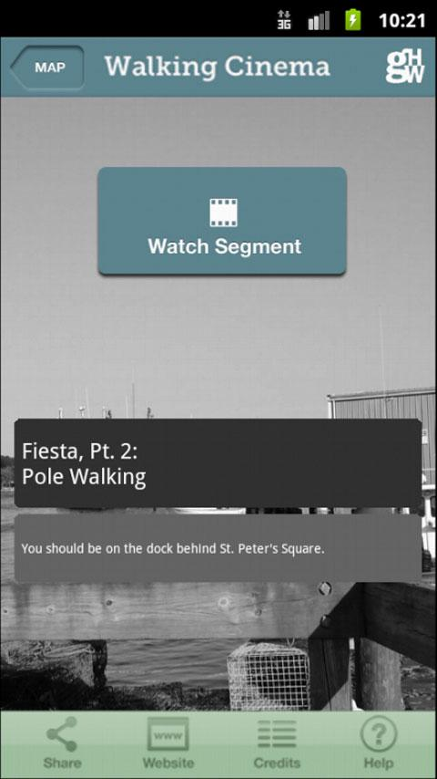 Walking Cinema: Gloucester - screenshot