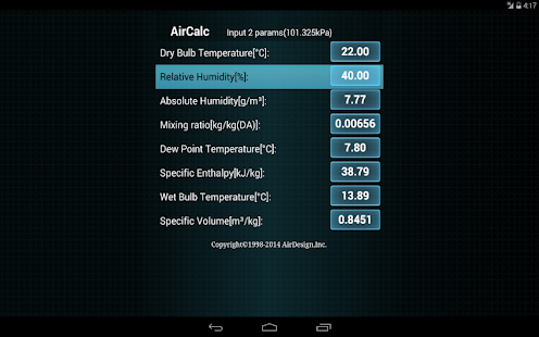 AirCalc for Android- screenshot thumbnail