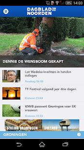 Dagblad van het Noorden DvhN - screenshot thumbnail