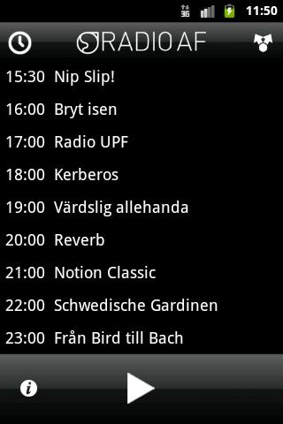 Radio AF 99.1 - screenshot
