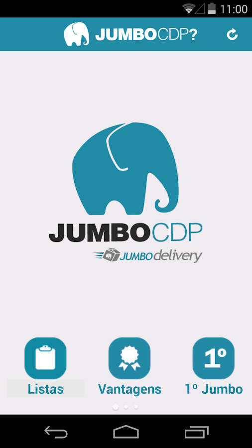 Jumbo CDP- screenshot