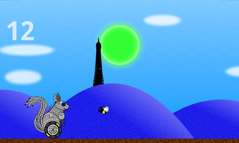 Robot Squirrel Free- screenshot