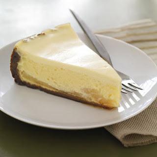 Gingersnap-Pear Cheesecake.
