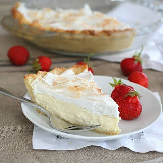 Coconut Cream Pie – Low Carb and Gluten-Free.