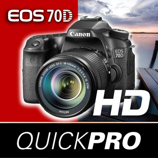 Canon EOS 70D QuickPro 攝影 App LOGO-APP開箱王