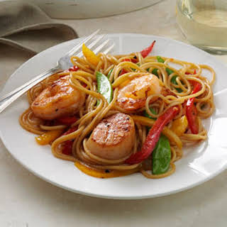 Seafood Pasta Delight.