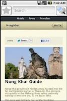 Screenshot of Nong Khai Travel Guide