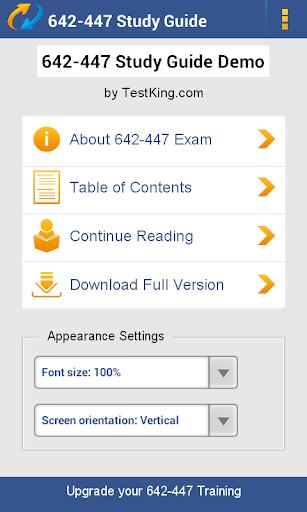 CCNP 642-447 Study Guide Demo