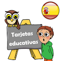 Tarjetas educativas en español icon