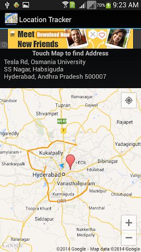 Mobile Location Tracker|玩生產應用App免費|玩APPs