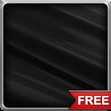 Pure Black LWP icon