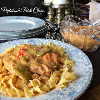Paprikash Pork Chops