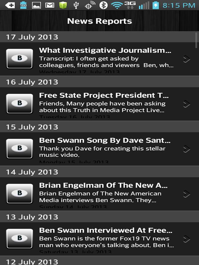 Ben Swann Truth in Media - screenshot