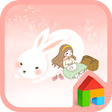 Travel with rabbit Dodol Theme icon