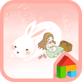 Travel with rabbit Dodol Theme
