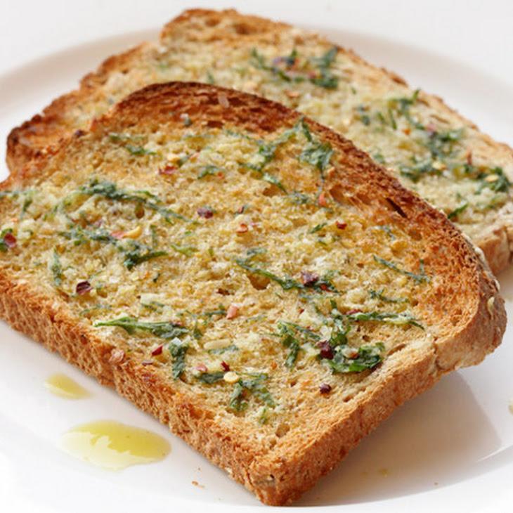 Breakfast Garlic Toast