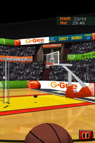 Basketball JAM 3D Games - screenshot