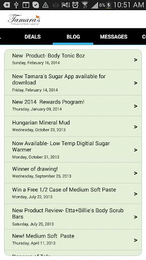 【免費購物App】Tamara's Pro Body Sugaring-APP點子