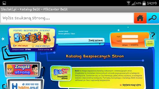 BeSt - przeglądarka na telefon