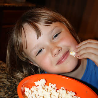 Homemade Popcorn.