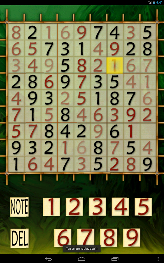 Sudoku Adventure - screenshot