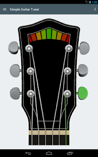 Simple Guitar Tuner- screenshot thumbnail