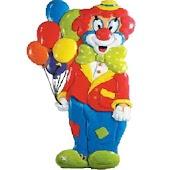 Clown Birthday Surprise
