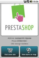 Screenshot of PrestAndroid