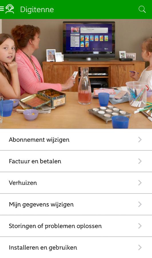 KPN Klantenservice - screenshot