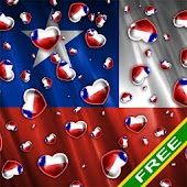 Heart Flag Chile Free