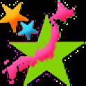 ご当地 logo