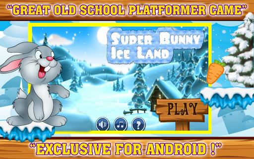 超級兔子在冰土地