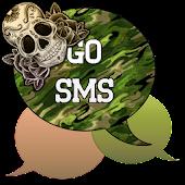 GO SMS - Sugar Skullz 3