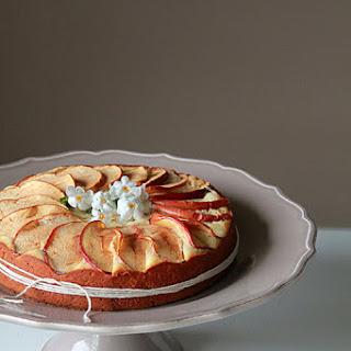 Lemon Yogurt Apple Cake.