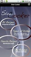 Screenshot of iCooking Slow Cooker