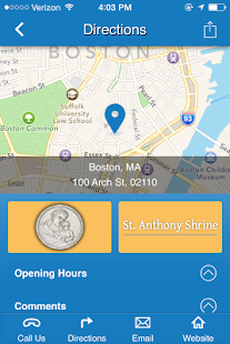 St. Anthony Shrine Boston- screenshot thumbnail