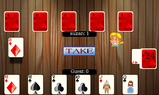 바보 카드 게임
