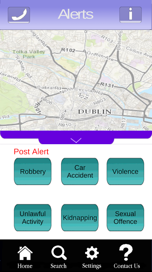Neighbourhood Alert Ireland - screenshot