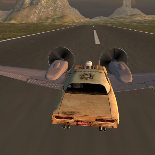 飞行汽车是免费的:警长工艺 賽車遊戲 LOGO-玩APPs