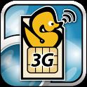 ServersMan SIM 3G 100速度制御解除アプリ icon