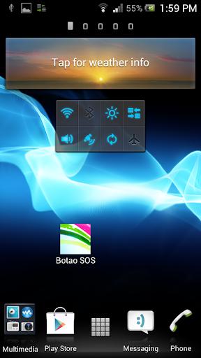 Botao SOS