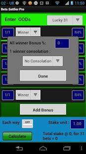 Bets Settler Pro - screenshot thumbnail